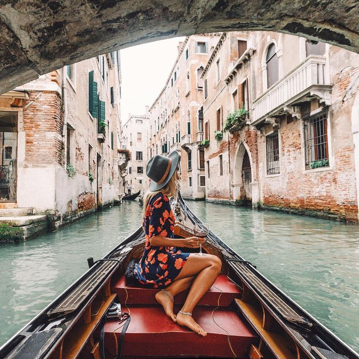 Sipping red wine through the romantic Grand Canals of Venice