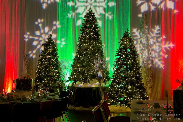 FOS Decor - Corporate Holiday Party #event #specialevent #eventdecor #christmasparty #christmasdecor