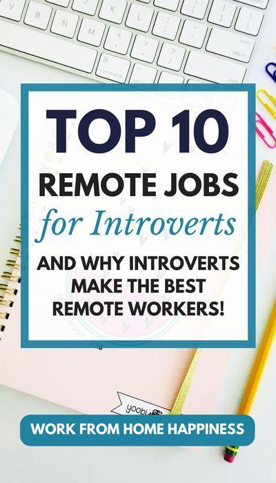 Top 10 Jobs von zu Hause aus zu Gunsten von Introv…
