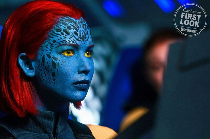 """In the new issue of """"Entertainment Weekly"""" appeared first promo materials for the upcoming film """"X-Men: the Dark Phoenix"""". One is the frame with the Mystic, whose role was performed by Jennifer Lawrence. #celebrity #famous #star #actress #model #JenniferLawrence #Mystic #cool #great #perfect #style #fashion #women #beautiful #lovely #nice #pretty #cute #hot #wow #love #EntertainmentWeekly #newphoto"""