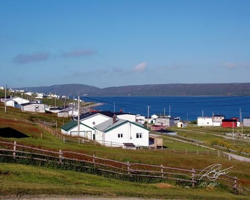 St. Vincent's, Newfoundland -Overlooking The Pond Photography by Stone Island Photography
