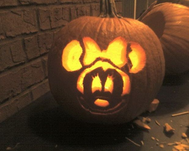 Easy pumpkin carving ideas disney reading pinterest