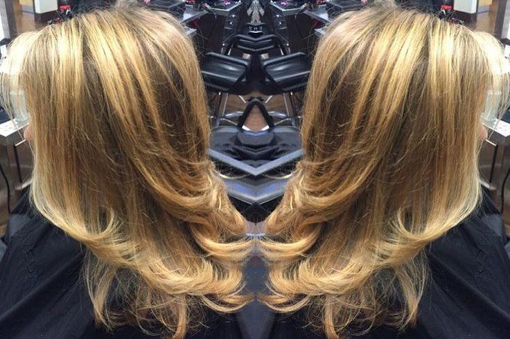 awesome Женская стрижка лесенка на средние волосы в 2016 — С челкой и без (фото) Читай больше http://avrorra.com/zhenskaja-strizhka-lesenka-na-srednie-volosy-foto/