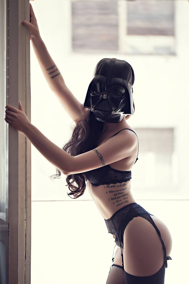 Gift orgy sexy star wars girl