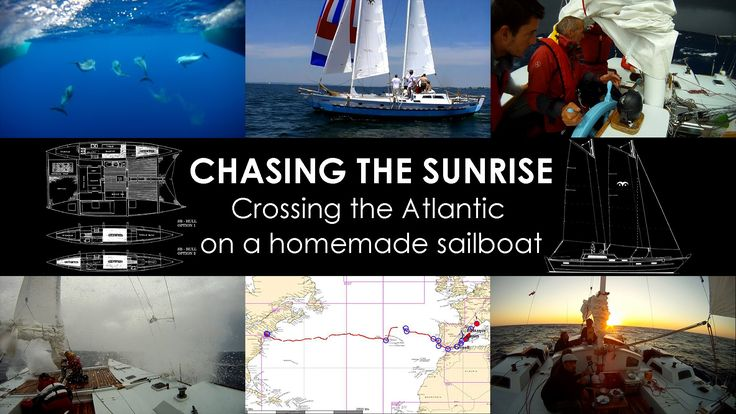 CHASING THE SUNRISE is documentary about building a sailboat from scratch, then crossing the Atlantic Ocean with it. A 4500 Nautical miles journey on a homem...
