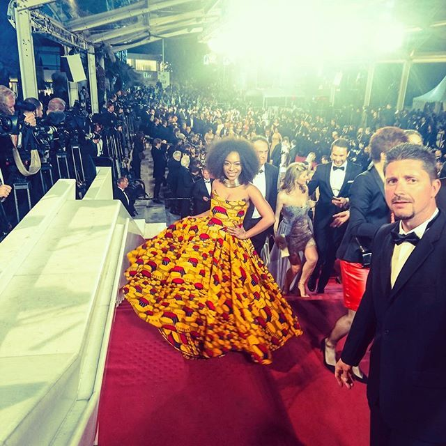 This is a God dream. It was all a dream... Red carpet. Cannes Film Festival. Representing Joburg F...