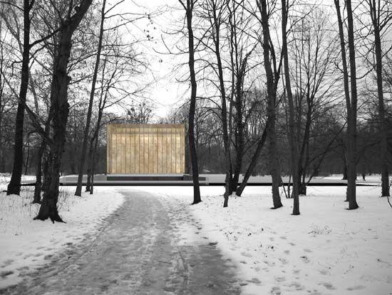 Abschlussarbeit: Architektur des Todes – Krematorium Berlin Friedrichsfelde, Susanne Hofmann, Technische Universität Dresden - Campus Masters | BauNetz.de