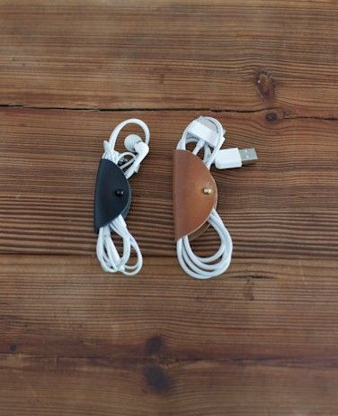 Keep your headphones and cords neat with the Cord Taco.