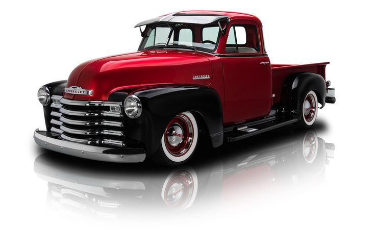 1951 Chevrolet 3100 Pickup Truck Red For Sale