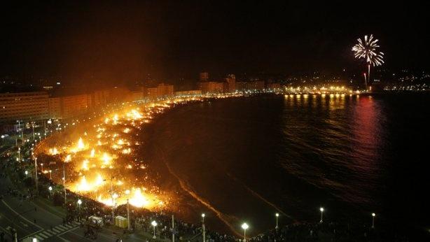 San Juan's Bonfires. Beginnig of Summer! A Coruña, #Spain