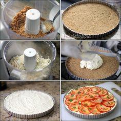 PANELATERAPIA - Blog de Culinária, Gastronomia e Receitas: Cheesecake Salgado