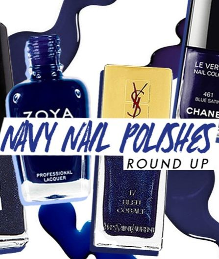 The best navy blue nail polishes to try this fall