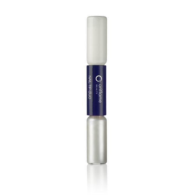 Oriflame Beauty Nail Tip duo. Manicura Francesa Tip Duo Oriflame Beauty (Oriflame).  • Blanco clásico y brillante• Cepillo de fácil aplicación 2 x 2.5 ml. 2  ml. 2.5 ml. Código: 13629. 10,00 €