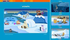 Les jeux interactifs de Wumpa font découvrir la vie des Inuits.