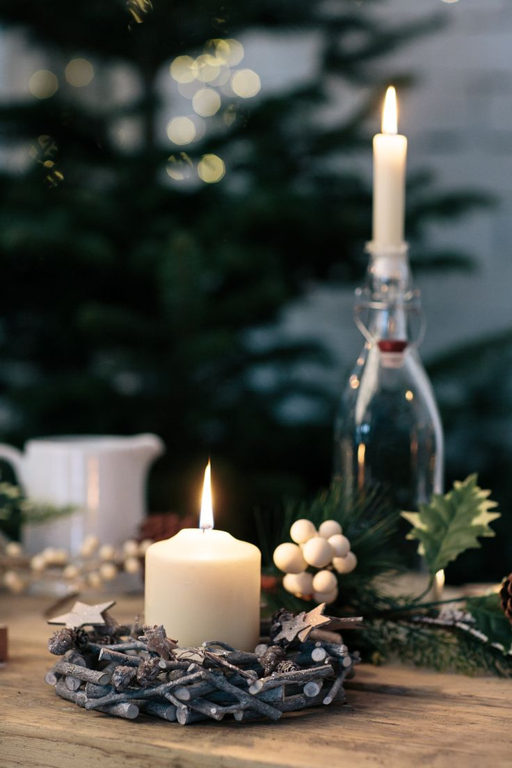 Create a warm, festive glow with our range of #Nordic candle holders. Or use #Kilner bottles to add some height to your table setting!