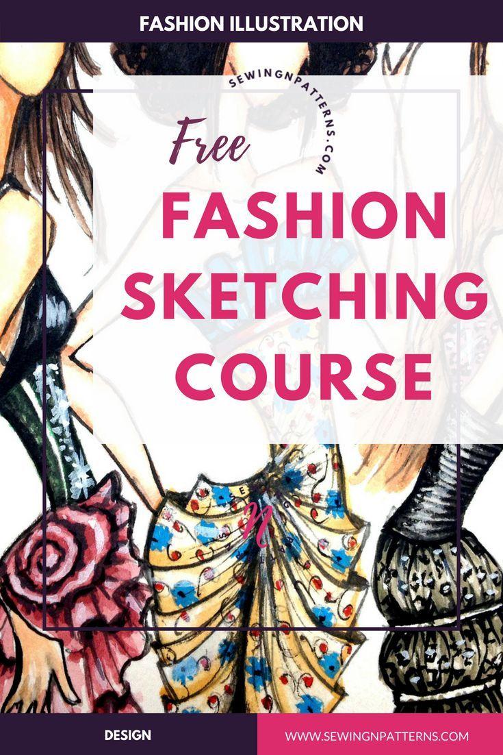 Fashion Sketchboook Challenge New Fashion Drawing Tutorial