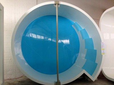 DIAMOND - kruhový bazén se schody