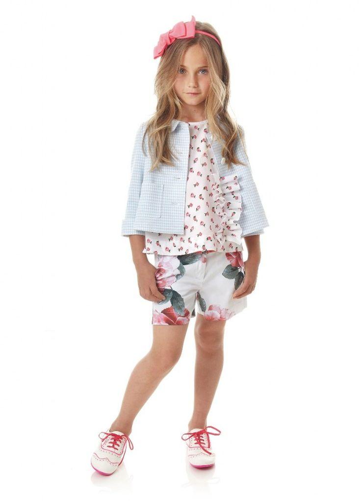 Fresh Floral Summer Kids Fashion Looks From Simonetta For