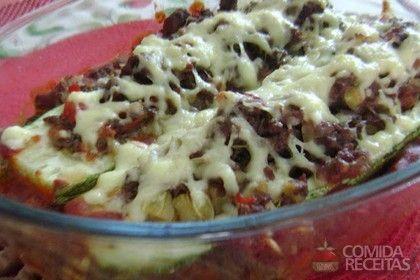 Receita de Canoa de abobrinha em receitas de legumes e verduras, veja essa e outras receitas aqui!