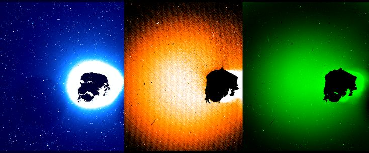 The European Space Agency's Rosetta spacecraft began orbiting comet 67P/Churyumov-Gerasimenko in August 2014, providing the closest and most detailed look at a comet to date. Now, a team led by astronomers at the University of Maryland has used data from Rosetta's Optical, Spectroscopic and Infrared Remote Imaging System (OSIRIS) cameras to generate maps of multiple gas emissions just above the comet's surface.