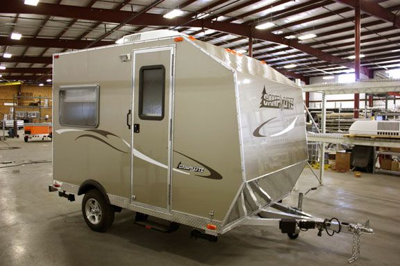 Rv S Unique Camp Lite Travel Trailer The Small Trailer Enthusiast Small Travel Trailers Pinterest Small Travel Trailers Li