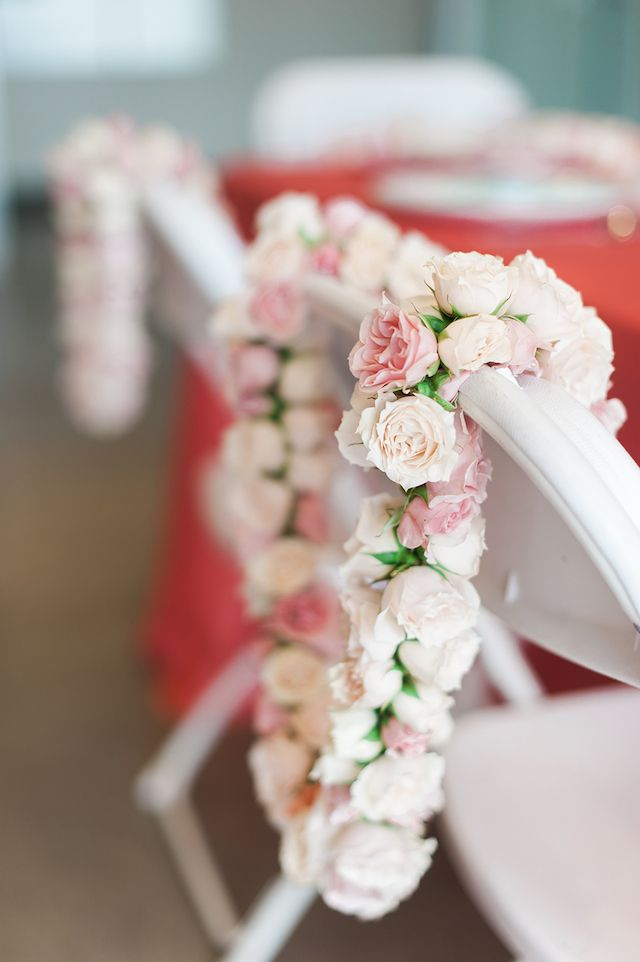 Rose leis | Christa Taylor Photography | see more on: http://burnettsboards.com/2015/09/hawaiian-bridal-shower-luau-styling-tips/