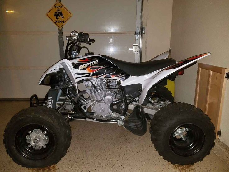 Used 2010 Yamaha 250 ATVs For Sale in California.