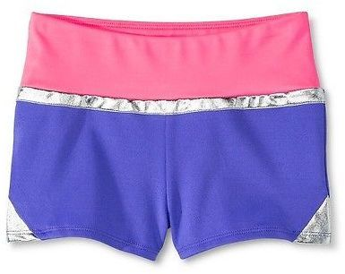 CircoTM Girls' Gymnastics Color-Block Shorts - Circo