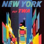 Fly TWA: The Art of David Klein's Travel Ad Designs – George Hahn