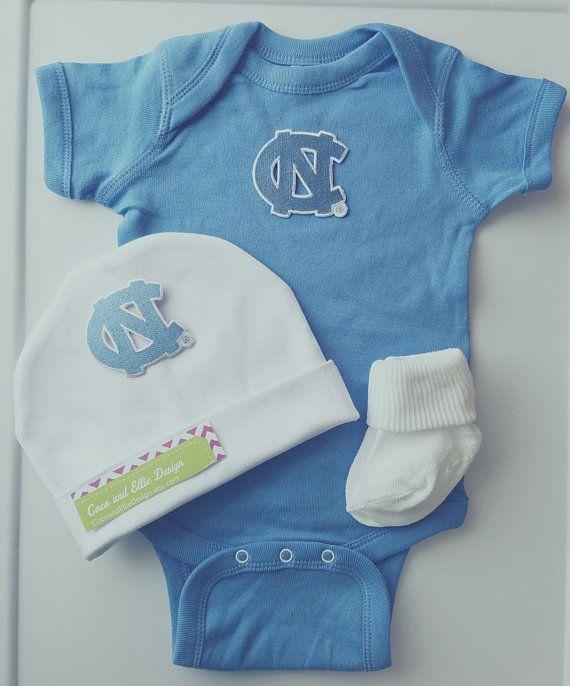 University of North Carolina Tar Heels Baby Overalls