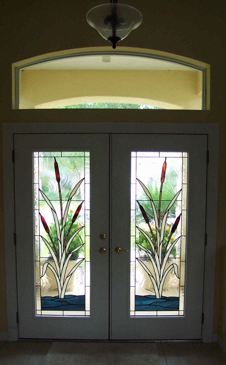 251 Best Interesting Doors With Stained Glass Images On Pinterest Glass Doors Glazed Doors