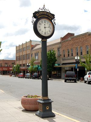 Downtown Klamath Falls Oregon