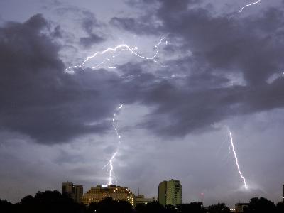 Tormenta eléctrica Guayaquil