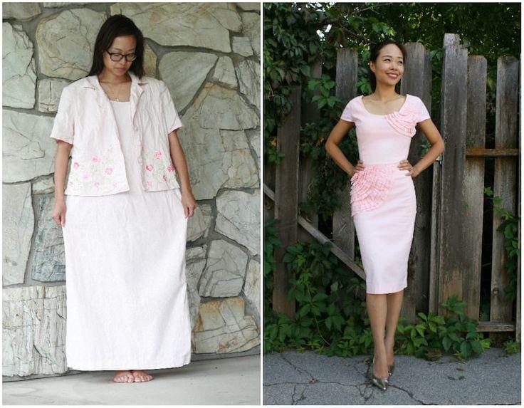 Dit Mom Transformeert Frumpy gebruikte kleding Into modieuze outfits voor haar en haar kinderen