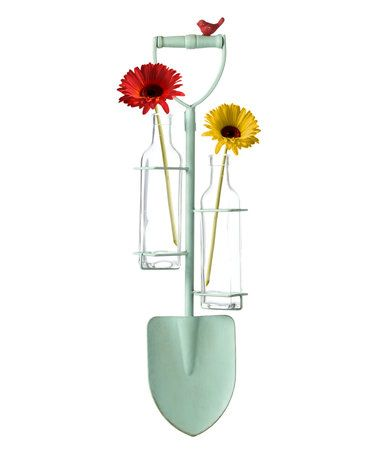 Love this Wall Mounted Vase Shovel Décor on #zulily! #zulilyfinds