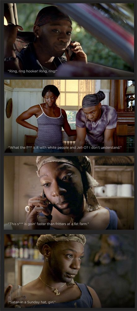 Words to live by- RING, RING, hookah. Ring, Ring. -Lafayette, True Blood
