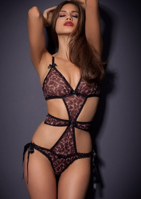 Esme Playsuit Agent Provocateur Made In The Softest French