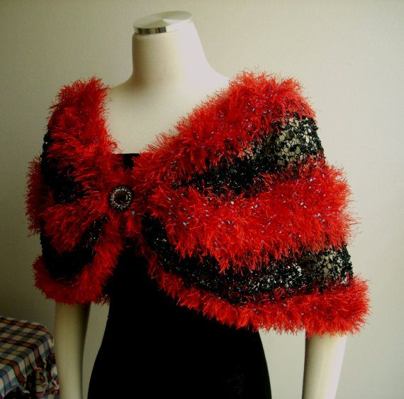 Free shipping Christmas gift ideas red black by TheAnatolianstyle