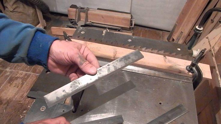 Заточка ножей на фуганок ( 1)
