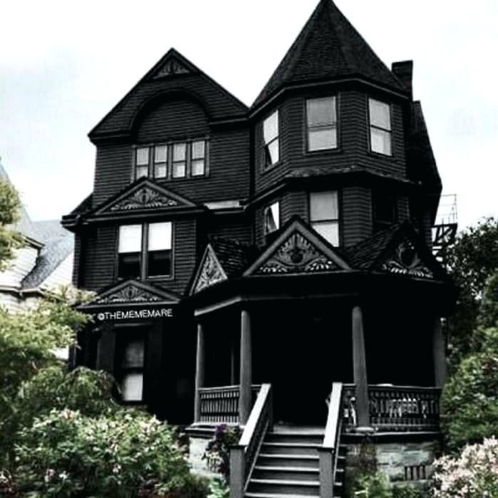 Gothic House House Ideas Gothic Houses For Sale England Gothic House Black House Exterior Dark House