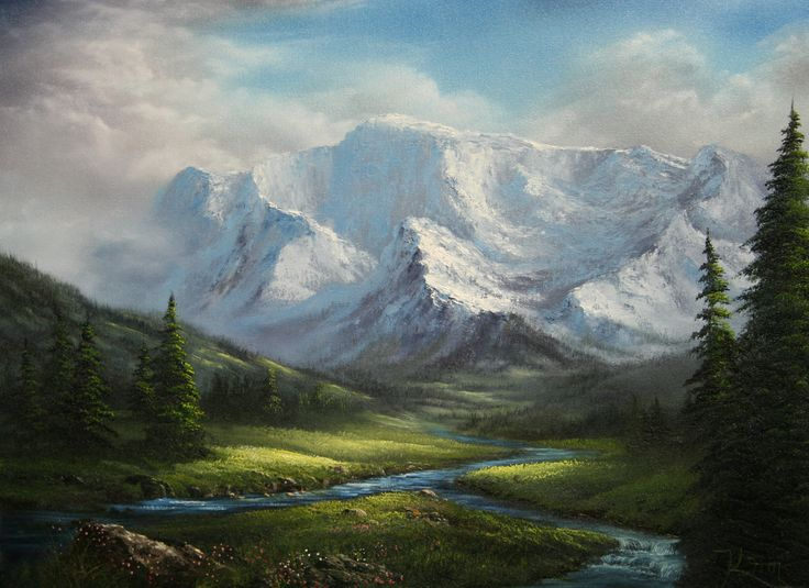 Quot Fork In The River Quot By Kevin Hill Paintwithkevin Com