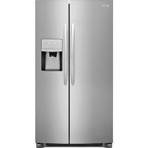 Frigidaire Gallery Frigidaire Gallery FGSC2335TF  22.2 cu. ft. Counter-Depth Side-by-Side Refrigerator - Stainless Steel