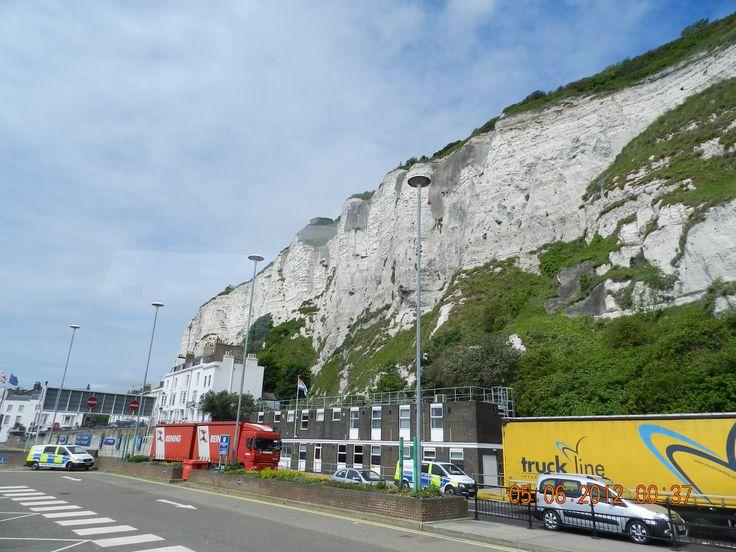 white cliffs of dover UK