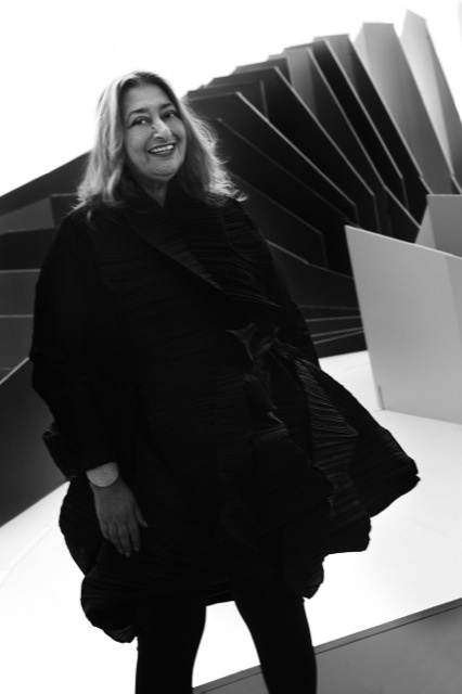 ZAHA HADID-first woman to receive the coveted Pritzker award (2004)!
