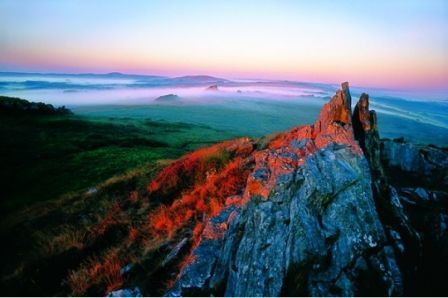 Monts d'Arrée, Finistere. Bretagne