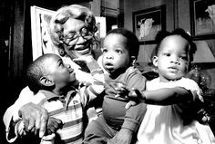"""Clara """"Mother"""" Hale, who at age 67 became founder of Hale House, a home for unwanted children, and children born addicted to drugs. By 1991, a reported 1,000+ children had been cared for by Hale House. At the time of her death in 1992 at the age of 87, Mother Hale had received over 372 awards, President Reagan had referred to her as an """"American Hero"""" in his State of the Union address, and she was named an honorary member of Delta Sigma Theta Sorority."""