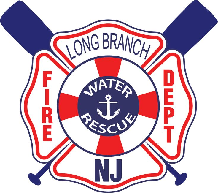 Long beach fire department water rescue coat of arms