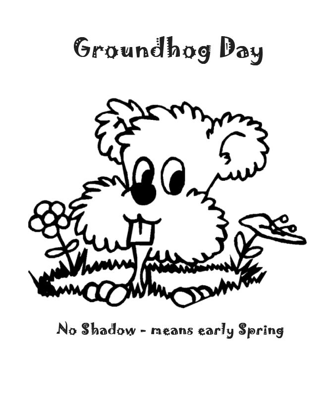 8 Best Images About Groundhogs Day Embroidery Patterns On