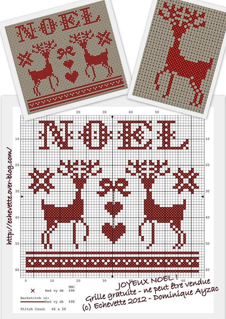 Noel deer freebie