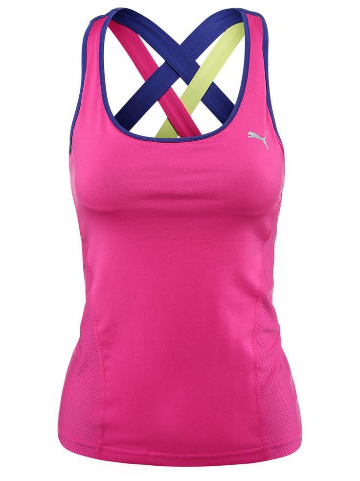 #Puma Women's Spring Gym Tank in Pink